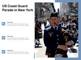 US Coast Guard Parade In New York