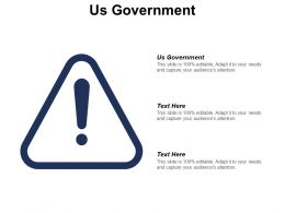 Us Government Ppt Powerpoint Presentation Gallery Clipart Images Cpb