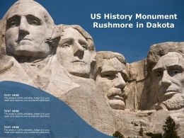 US History Monument Rushmore In Dakota