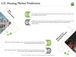 US Housing Market Predictions Include Dallas Ppt Powerpoint Presentation Layouts Show