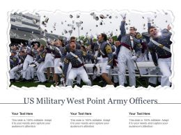 US Military West Point Army Officers