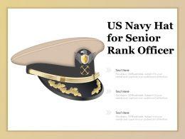 US Navy Hat For Senior Rank Officer