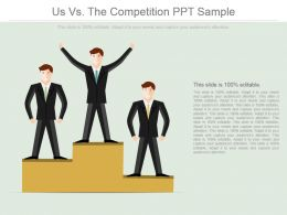 Us Vs The Competition Ppt Sample