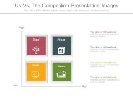 Us Vs The Competition Presentation Images