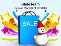 Usa Holidays Christmas Balls Sale Shopping Event Powerpoint Templates Ppt Backgrounds For Slides
