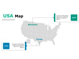 Usa Map Ppt Styles Backgrounds