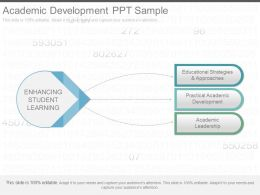 Use Academic Development Ppt Sample