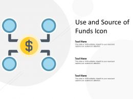 Use And Source Of Funds Icon