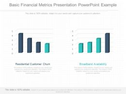 Use Basic Financial Metrics Presentation Powerpoint Example