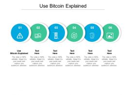 Use Bitcoin Explained Ppt Powerpoint Presentation Gallery Cpb