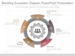 Use Branding Ecosystem Diagram Powerpoint Presentation