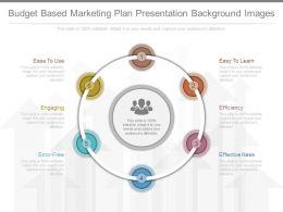 Use Budget Based Marketing Plan Presentation Background Images