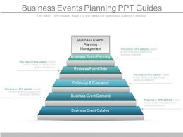 Use Business Events Planning Ppt Guides