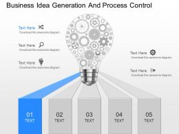 use Business Idea Generation And Process Control Powerpoint Template