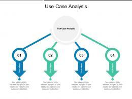 Use Case Analysis Ppt Powerpoint Presentation Styles Smartart Cpb
