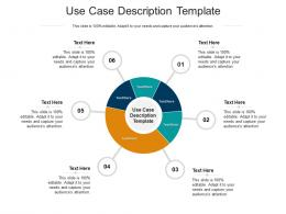 Use Case Description Template Ppt Powerpoint Presentation Icon Guidelines Cpb