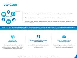 Use Case Electronics Business Ppt Powerpoint Presentation Show Example Introduction