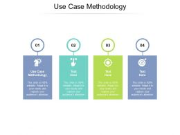 Use Case Methodology Ppt Powerpoint Presentation File Template Cpb