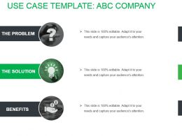 Use Case Template Abc Company Sample Ppt Files