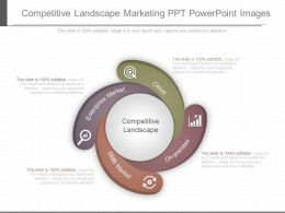 Use Competitive Landscape Marketing Ppt Powerpoint Images