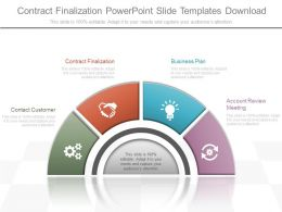 Use Contract Finalization Powerpoint Slide Templates Download
