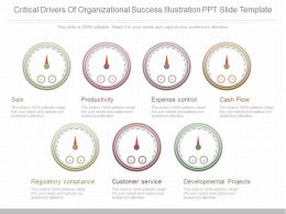 Use Critical Drivers Of Organizational Success Illustration Ppt Slide Template