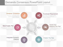 Use Demands Consensus Powerpoint Layout