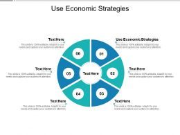 Use Economic Strategies Ppt Powerpoint Presentation Model Elements Cpb