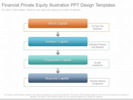 Use Financial Private Equity Illustration Ppt Design Templates