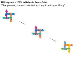 use_four_arrows_infographics_for_process_flow_flat_powerpoint_design_Slide02
