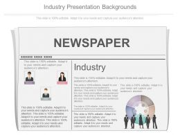 Use Industry Presentation Backgrounds