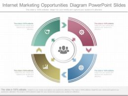Use Internet Marketing Opportunities Diagram Powerpoint Slides