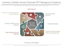 Use Inventory Visibility Across Channels Ppt Background Graphics