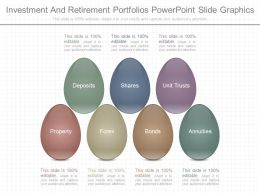 Use Investment And Retirement Portfolios Powerpoint Slide Graphics