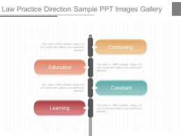 Use Law Practice Direction Sample Ppt Images Gallery