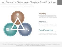Use Lead Generation Technologies Template Powerpoint Ideas