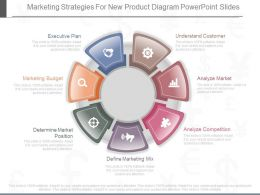 Use Marketing Strategies For New Product Diagram Powerpoint Slides