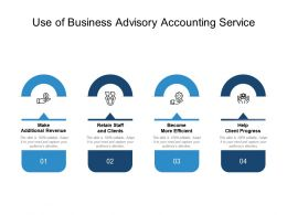Use Of Business Advisory Accounting Service