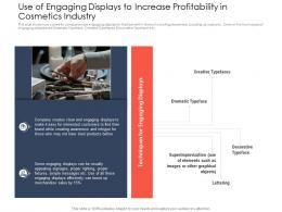 Use Of Engaging Displays Use Latest Trends Boost Profitability Ppt Model