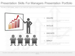 Use Presentation Skills For Managers Presentation Portfolio