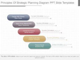 Use Principles Of Strategic Planning Diagram Ppt Slide Templates