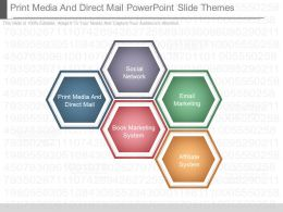 Use Print Media And Direct Mail Powerpoint Slide Themes