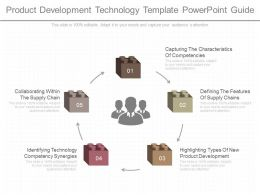 use_product_development_technology_template_powerpoint_guide_Slide01