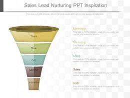 Use Sales Lead Nurturing Ppt Inspiration
