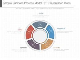 Use Sample Business Process Model Ppt Presentation Ideas