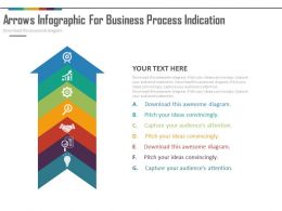 use Seven Staged Arrow Infographics For Business Process Indication Flat Powerpoint Design