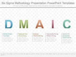 Use Six Sigma Methodology Presentation Powerpoint Templates