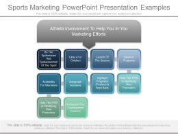 Use Sports Marketing Powerpoint Presentation Examples