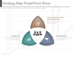 Use Strategy Map Powerpoint Show