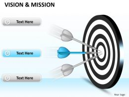 Use Target Dart For Vision And Mission 0214